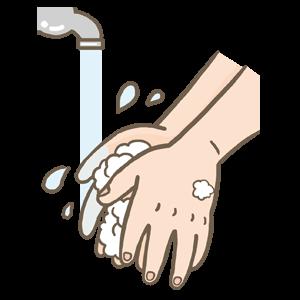 コロナウイルス対策手洗い